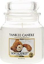 Düfte, Parfümerie und Kosmetik Duftkerze im Glas Soft Blanket - Yankee Candle Soft Blanket Jar