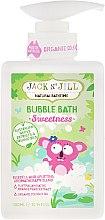 Düfte, Parfümerie und Kosmetik Badeschaum für Kinder mit Kokosöl - Jack N' Jill Bubble Bath Sweetness