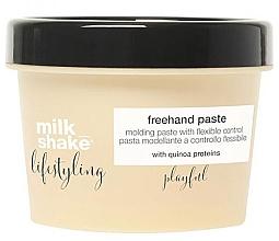 Düfte, Parfümerie und Kosmetik Modellierende Haarpaste mit Quinoa Proteinen - Milk Shake Lifestyling Pasta Modeladora