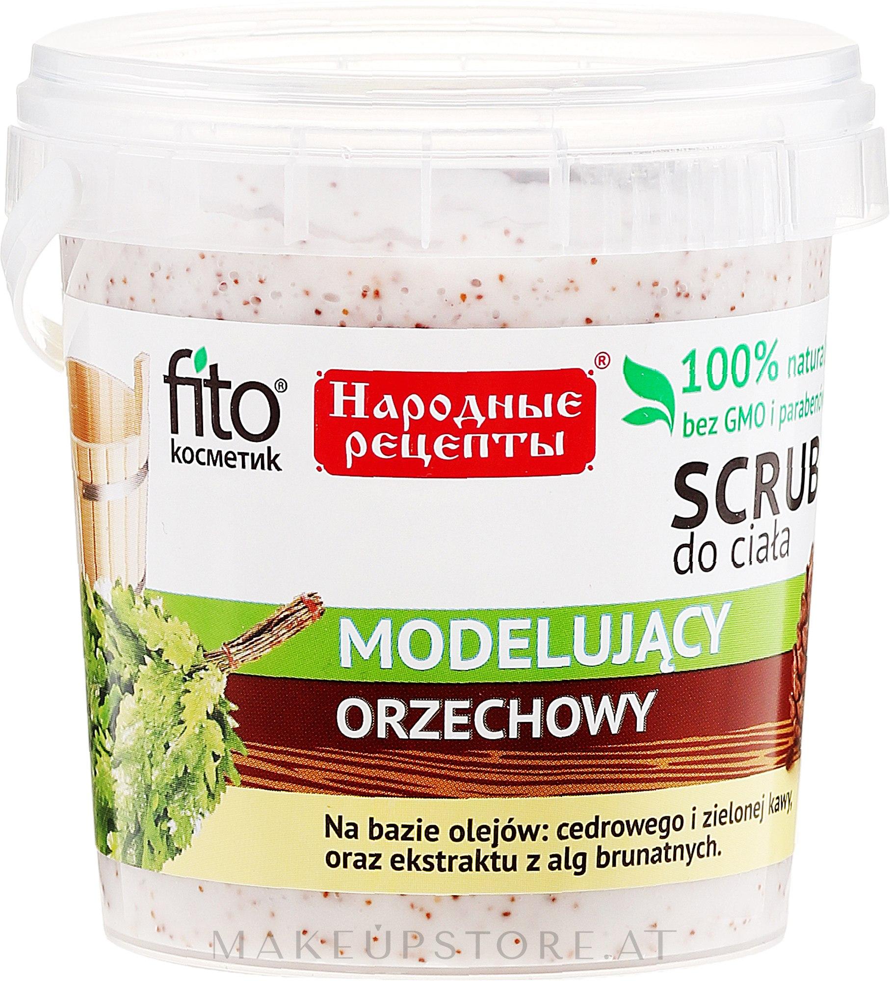 Körperpeeling mit Walnussextrakt - Fito Kosmetik Volksrezepte — Bild 155 ml