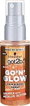 Düfte, Parfümerie und Kosmetik Haar- und Körperspray mit Schimmereffekt - Schwarzkopf Got2b Go N Glow Hair & Body Spray