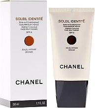 Düfte, Parfümerie und Kosmetik Pflegender Selbstbräuner für das Gesicht SPF 8 - Chanel Soleil Identite SPF 8 Intense Bronze