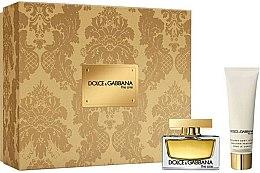 Düfte, Parfümerie und Kosmetik Dolce & Gabbana The One - Duftset (Eau de Parfum 30ml + Körperlotion 50ml)