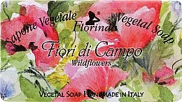 Düfte, Parfümerie und Kosmetik Naturseife Wildblumen - Florinda Sapone Vegetale Vegetal Soap Wild Flowers
