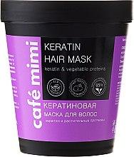 Düfte, Parfümerie und Kosmetik Haarmaske mit Keratin und pflanzlichem Protein - Cafe Mimi Mask