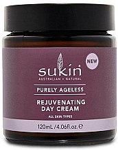 Düfte, Parfümerie und Kosmetik Verjüngende Tagescreme für alle Hauttypen - Sukin Purely Ageless Rejuvenating Day Cream