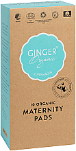 Düfte, Parfümerie und Kosmetik Damenbinden nach der Geburt 10 St. - Ginger Organic