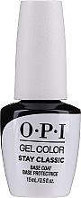 Düfte, Parfümerie und Kosmetik Gel Nagelunterlack - O.P.I. Stay Classic Base Coat