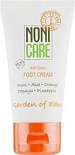 Düfte, Parfümerie und Kosmetik Fußcreme gegen rissige Fersen mit Orange und Papaya - Nonicare Garden Of Eden Foot Cream Anti-Crack
