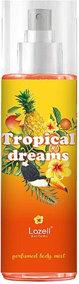 Lazell Tropical Dreams - Parfümierter Körpernebel