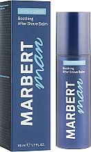 Düfte, Parfümerie und Kosmetik Beruhigender After Shave Balsam - Marbert Man Skin Power Soothing After Shave Balm