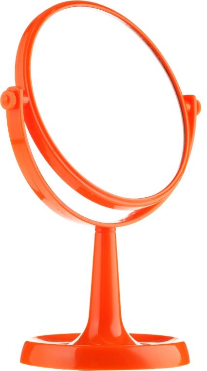 Standspiegel 85734 rund 15,5 cm orange - Top Choice Colours Mirror
