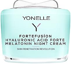 Düfte, Parfümerie und Kosmetik Nachtcreme mit Melatonin und Hyaluronsäure - Yonelle Fortefusion Hyaluronic Acid Forte Melatonin Night Cream