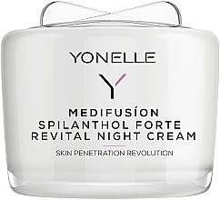Düfte, Parfümerie und Kosmetik Regenerierende Nachtcreme für das Gesicht gegen Falten - Yonelle Medifusion Spilantol Forte Revital Night Cream