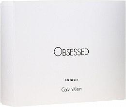 Düfte, Parfümerie und Kosmetik Calvin Klein Obsessed For Women - Duftset (Eau de Parfum 100ml + Körperlotion 100ml + Duschgel 100ml)