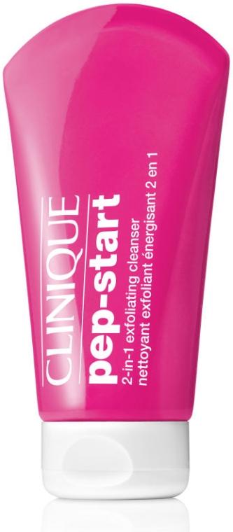 Gesichtsreinigungsgel 2in1 - Clinique Pep-Start 2in1Exfoliating Cleanser — Bild N1