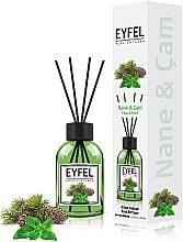 Düfte, Parfümerie und Kosmetik Raumerfrischer Minze - Eyfel Perfume Reed Diffuser Mint