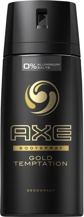 Deospray - Axe Deodorant Bodyspray Gold Temptation — Bild N1