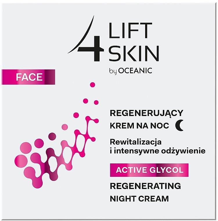 Regenerierende Nachtcreme mit Glykolsäure - Lift4Skin Active Glycol Regenerating Night Cream