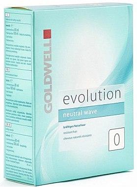 Well-Lotion und Fixierung für kräftiges Naturhaar - Goldwell Evolution Neutral Wave 0 — Bild N1
