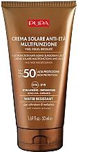 Düfte, Parfümerie und Kosmetik Anti-Aging Sonnenschutzcreme für Gesicht, Hals und Dekolleté SPF 50 - Pupa Anti-Aging Sunscreen Cream SPF 50