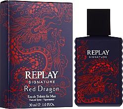 Düfte, Parfümerie und Kosmetik Signature Replay Signature Red Dragon - Eau de Toilette