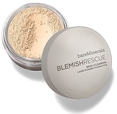 Puder-Foundation - Bare Escentuals Bare Minerals Blemish Rescue Skin-Clearing Loose Powder Foundation