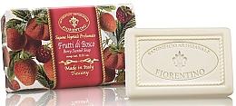 Düfte, Parfümerie und Kosmetik Naturseife Berry - Saponificio Artigianale Fiorentino Berry Scented Soap Armonia Collection