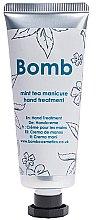 Düfte, Parfümerie und Kosmetik Handcreme mit Minztee - Bomb Cosmetics Mint Tea Manicure Hand Treatment