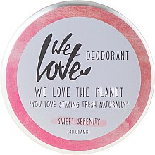Düfte, Parfümerie und Kosmetik Natürliche Deo-Creme - We Love The Planet Deodorant Sweet Serenity