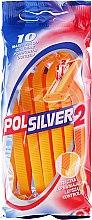 Düfte, Parfümerie und Kosmetik Set Einwegrasierer 10 St. - Polsilver II