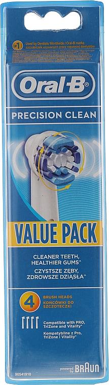 Ersatzköpfe für elektrische Zahnbürste 4 St. - Oral-B EB20 Precision clean — Bild N1