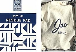 Düfte, Parfümerie und Kosmetik Körperpflegeset - Jao Brand Travel Rescue Pak (Handdesinfektionsmittel 59ml + Butter für Hände, Haare, Nägel 18gr + Lippenbalsam 5gr)