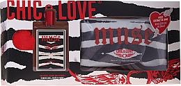 Düfte, Parfümerie und Kosmetik Chic&Love Muse - Duftset (Eau de Toilette 100ml + Kosmetiktasche)