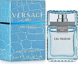 Düfte, Parfümerie und Kosmetik Versace Man Eau Fraiche - Eau de Toilette (Mini)