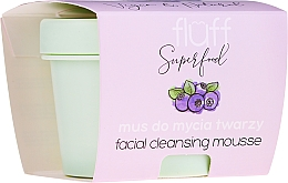Düfte, Parfümerie und Kosmetik Gesichtsreinigungsmousse mit wilden Blaubeeren - Fluff Facial Cleansing Mousse Wild Blueberry