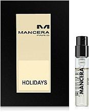 Düfte, Parfümerie und Kosmetik Mancera Holidays - Eau de Parfum (Tester)