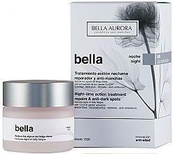 Düfte, Parfümerie und Kosmetik Nachtcreme für das Gesicht gegen dunkle Flecken - Bella Night-Time Action Treatment Repairs & Anti-Dark Spots