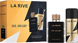 Düfte, Parfümerie und Kosmetik La Rive Mr. Sharp - Duftset (Eau de Toilette 100ml + Deospray 150ml)
