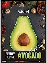 Düfte, Parfümerie und Kosmetik Lifting-Gesichtsmaske mit Avocadoextrakt - Quret Beauty Recipe Mask Avocado Lifting
