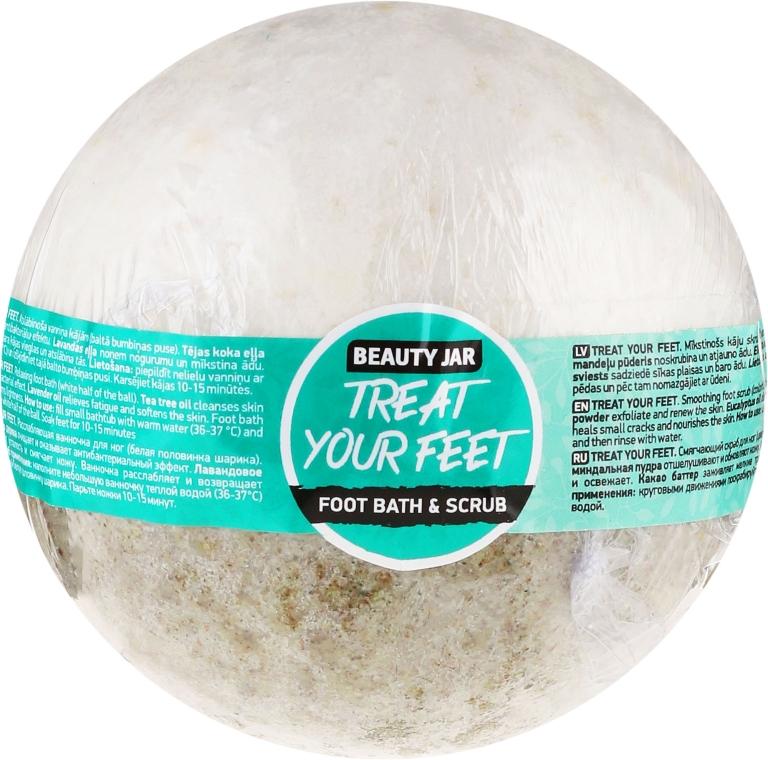 Entspannendes Fußbad - Beauty Jar Treat Your Feet Foot Bath&Scrub