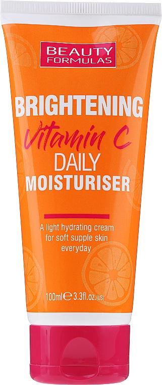 Aufhellende und feuchtigkeitsspendende Gesichtscreme mit Vitamin C - Beauty Formulas Brightening Vitamin C Daily Moisturiser Cream