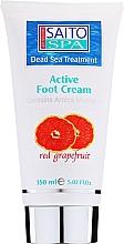 Düfte, Parfümerie und Kosmetik Fußcreme mit Grapefruit und Arnika - Saito Spa Active Foot Cream Red Grapefriut