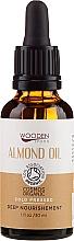 Düfte, Parfümerie und Kosmetik Kaltgepresstes Mandelöl - Wooden Spoon Almond Oil