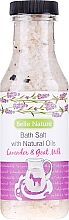 Düfte, Parfümerie und Kosmetik Badesalz mit Lavendel und Ziegenmilch - Belle Nature Bath Salt
