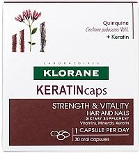 Düfte, Parfümerie und Kosmetik Nahrungsergänzungsmittel Keratincaps für gesunde Haare und Nägel - Klorane Keratincaps