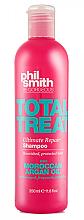 Düfte, Parfümerie und Kosmetik Nährendes und reparierendes Shampoo mit marokkanischem Arganöl für beschädigtes Haar - Phil Smith Be Gorgeous Total Treat Indulgent Nourishing Shampoo