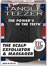 Düfte, Parfümerie und Kosmetik Massagebürste für die Kopfhaut - Tangle Teezer The Scalp Exfoliator & Massager Onyx Black