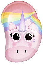 Düfte, Parfümerie und Kosmetik Kinder-Haarbürste - Tangle Teezer The Original Mini Children Detangling Hairbrush Rainbow The Unicorn