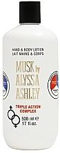Alyssa Ashley Musk Triple Action - Hand- und Körperlotion — Bild N3